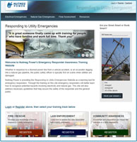 Responding to Utility Emergencies Online